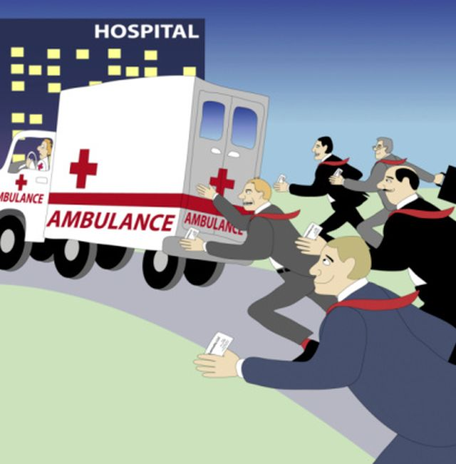 Image result for ambulance chasing lawyer